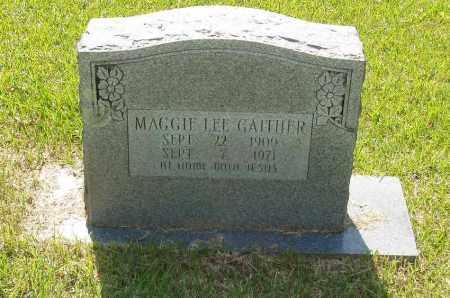 GAITHER, MAGGIE LEE - Izard County, Arkansas | MAGGIE LEE GAITHER - Arkansas Gravestone Photos