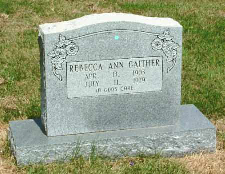 LAWHON GAITHER, REBECCA ANN - Izard County, Arkansas | REBECCA ANN LAWHON GAITHER - Arkansas Gravestone Photos
