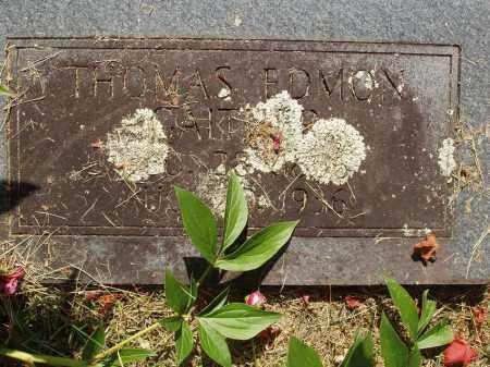 GAITHER, THOMAS EDMON - Izard County, Arkansas | THOMAS EDMON GAITHER - Arkansas Gravestone Photos