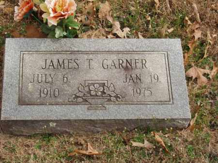 GARNER, JAMES T - Izard County, Arkansas | JAMES T GARNER - Arkansas Gravestone Photos