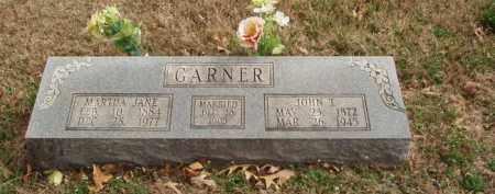 GARNER, MARTHA JANE - Izard County, Arkansas | MARTHA JANE GARNER - Arkansas Gravestone Photos