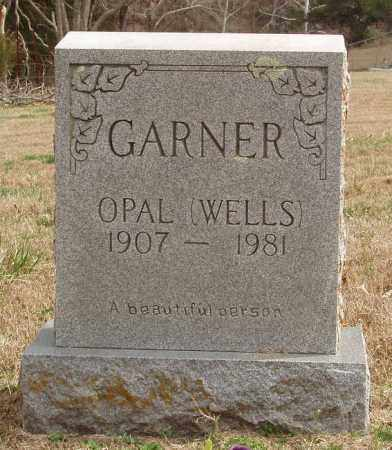 WELLS GARNER, OPAL - Izard County, Arkansas | OPAL WELLS GARNER - Arkansas Gravestone Photos