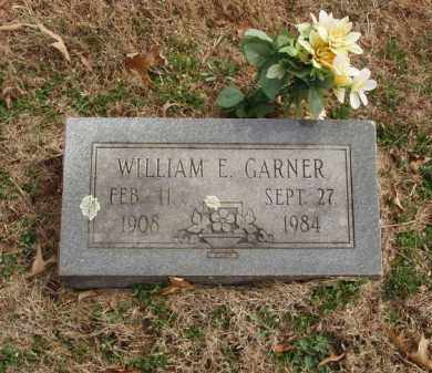 GARNER, WILLIAM E - Izard County, Arkansas | WILLIAM E GARNER - Arkansas Gravestone Photos