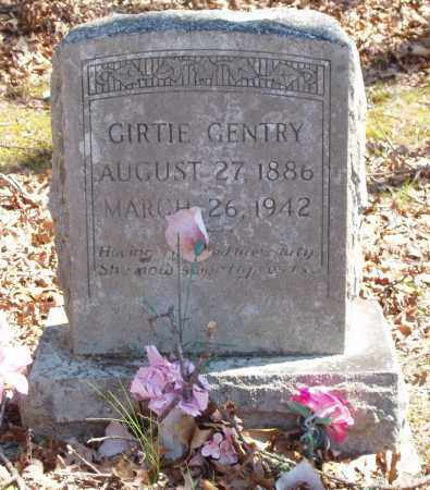 GENTRY, GIRTIE - Izard County, Arkansas | GIRTIE GENTRY - Arkansas Gravestone Photos