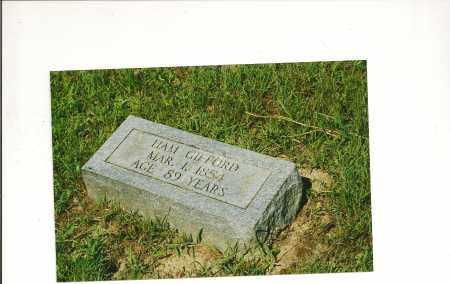 GIFFORD, BISCO HAMILTON 'HAM' - Izard County, Arkansas | BISCO HAMILTON 'HAM' GIFFORD - Arkansas Gravestone Photos