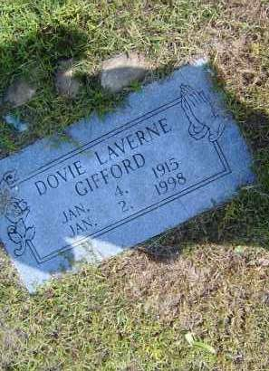 GIFFORD, DOVIE LAVERNE - Izard County, Arkansas | DOVIE LAVERNE GIFFORD - Arkansas Gravestone Photos