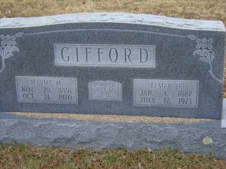 GIFFORD, ELMER DYER - Izard County, Arkansas | ELMER DYER GIFFORD - Arkansas Gravestone Photos