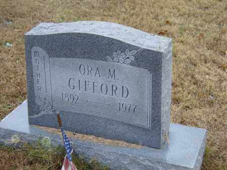 SMITH GIFFORD, ORA MAE - Izard County, Arkansas | ORA MAE SMITH GIFFORD - Arkansas Gravestone Photos