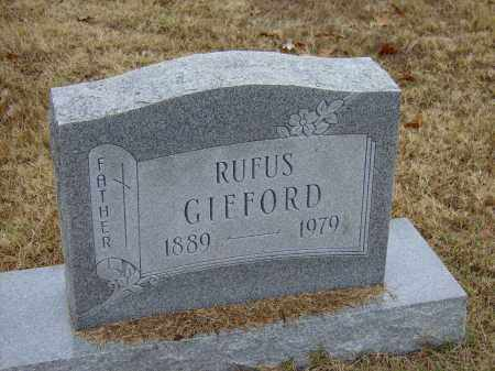 GIFFORD, RUFUS - Izard County, Arkansas | RUFUS GIFFORD - Arkansas Gravestone Photos
