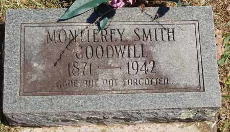 GOODWILL, MONTIEREY - Izard County, Arkansas | MONTIEREY GOODWILL - Arkansas Gravestone Photos