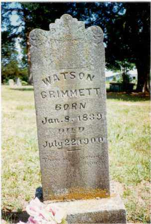 GRIMMETT (VETERAN CSA), HARVEY WATSON - Izard County, Arkansas | HARVEY WATSON GRIMMETT (VETERAN CSA) - Arkansas Gravestone Photos
