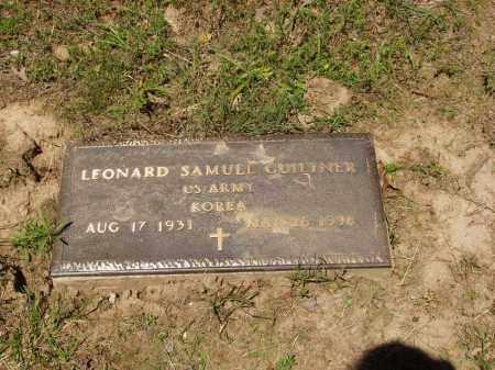 GUILTNER  (VETERAN KOR), LEONARD SAMUEL - Izard County, Arkansas | LEONARD SAMUEL GUILTNER  (VETERAN KOR) - Arkansas Gravestone Photos