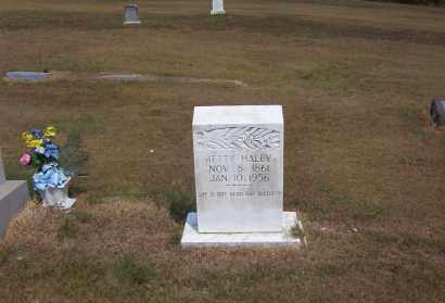 HALEY, BETTY - Izard County, Arkansas | BETTY HALEY - Arkansas Gravestone Photos