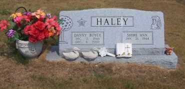 HALEY, DANNY BOYCE - Izard County, Arkansas | DANNY BOYCE HALEY - Arkansas Gravestone Photos