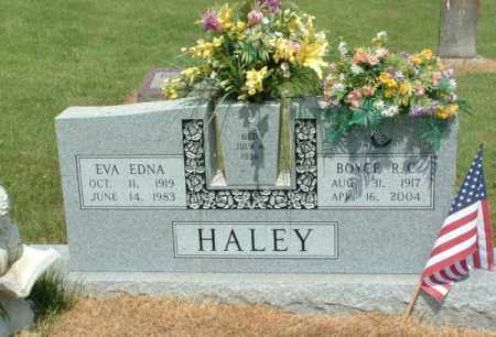 MILLER HALEY, EVA EDNA - Izard County, Arkansas | EVA EDNA MILLER HALEY - Arkansas Gravestone Photos
