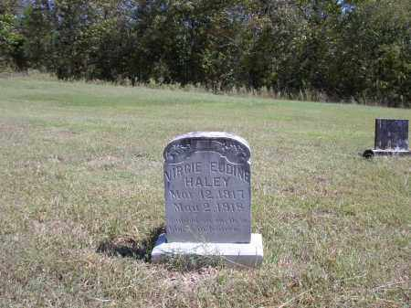 HALEY, VIRGIE  EUDINE - Izard County, Arkansas | VIRGIE  EUDINE HALEY - Arkansas Gravestone Photos