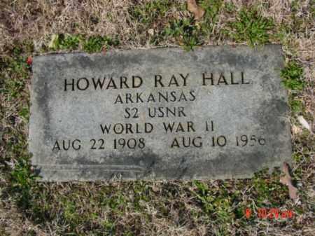 HALL  (VETERAN WWII), HOWARD RAY - Izard County, Arkansas | HOWARD RAY HALL  (VETERAN WWII) - Arkansas Gravestone Photos