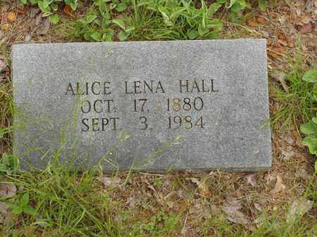 KIRK HALL, ALICE LENA - Izard County, Arkansas | ALICE LENA KIRK HALL - Arkansas Gravestone Photos