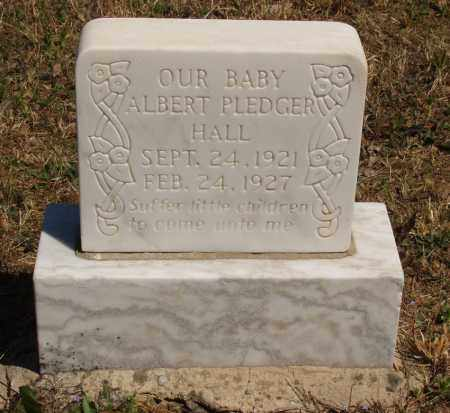 HALL, ALBERT PLEDGER - Izard County, Arkansas | ALBERT PLEDGER HALL - Arkansas Gravestone Photos
