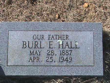 HALL, BURL E. - Izard County, Arkansas | BURL E. HALL - Arkansas Gravestone Photos