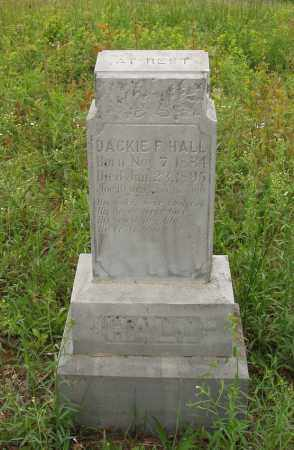 HALL, DACKIE F - Izard County, Arkansas   DACKIE F HALL - Arkansas Gravestone Photos