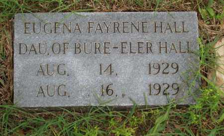HALL, EUGENA FAYRENE - Izard County, Arkansas | EUGENA FAYRENE HALL - Arkansas Gravestone Photos