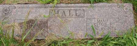 JACOBS HALL, SUSIE E - Izard County, Arkansas | SUSIE E JACOBS HALL - Arkansas Gravestone Photos