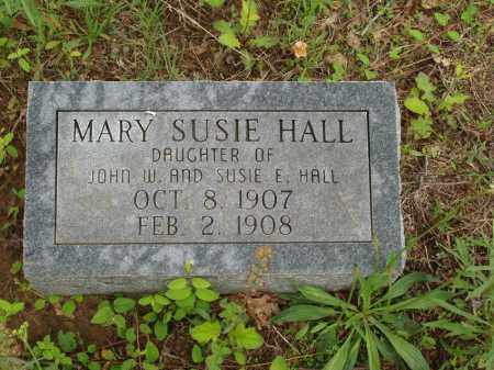 HALL, MARY SUSIE - Izard County, Arkansas | MARY SUSIE HALL - Arkansas Gravestone Photos