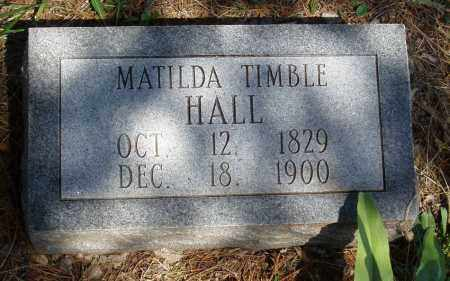 HALL, MATILDA - Izard County, Arkansas | MATILDA HALL - Arkansas Gravestone Photos