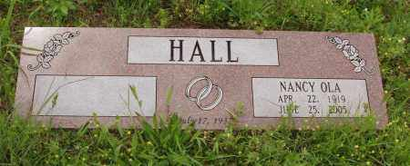 HALL, NANCY OLA - Izard County, Arkansas | NANCY OLA HALL - Arkansas Gravestone Photos