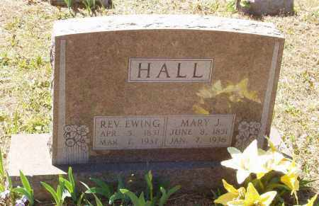 HALL, REV. FINIS EWING - Izard County, Arkansas | REV. FINIS EWING HALL - Arkansas Gravestone Photos