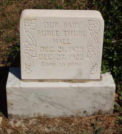 HALL, RUBLE THURL - Izard County, Arkansas | RUBLE THURL HALL - Arkansas Gravestone Photos