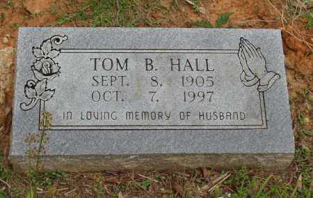 HALL, TOM BURL - Izard County, Arkansas | TOM BURL HALL - Arkansas Gravestone Photos