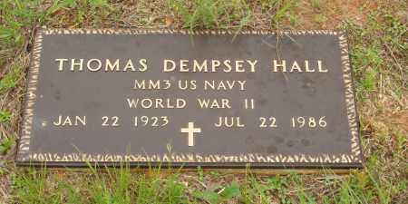 HALL  (VETERAN WWII), THOMAS DEMPSEY - Izard County, Arkansas | THOMAS DEMPSEY HALL  (VETERAN WWII) - Arkansas Gravestone Photos