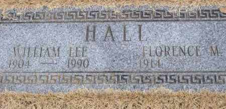 HALL, WILLIAM LEE - Izard County, Arkansas | WILLIAM LEE HALL - Arkansas Gravestone Photos