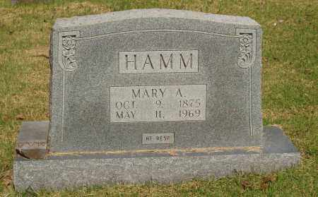 FINLEY HAMM, MARY ANNA - Izard County, Arkansas | MARY ANNA FINLEY HAMM - Arkansas Gravestone Photos