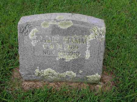 HAMM, MADIE - Izard County, Arkansas | MADIE HAMM - Arkansas Gravestone Photos