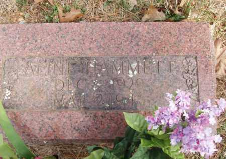 HAMMETT, ALINE - Izard County, Arkansas | ALINE HAMMETT - Arkansas Gravestone Photos