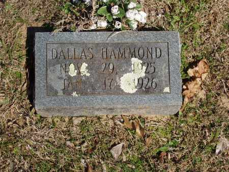 HAMMOND, DALLAS - Izard County, Arkansas | DALLAS HAMMOND - Arkansas Gravestone Photos