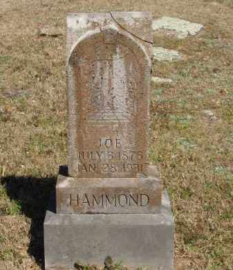HAMMOND, JOE - Izard County, Arkansas | JOE HAMMOND - Arkansas Gravestone Photos