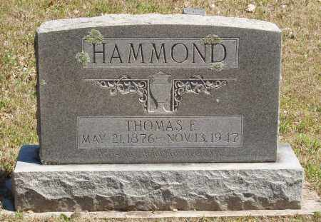 HAMMOND, THOMAS E - Izard County, Arkansas | THOMAS E HAMMOND - Arkansas Gravestone Photos