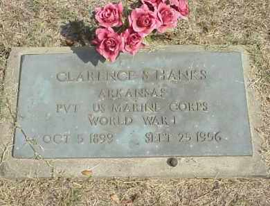 HANKS  (VETERAN WWI), CLARENCE SHELBY - Izard County, Arkansas | CLARENCE SHELBY HANKS  (VETERAN WWI) - Arkansas Gravestone Photos