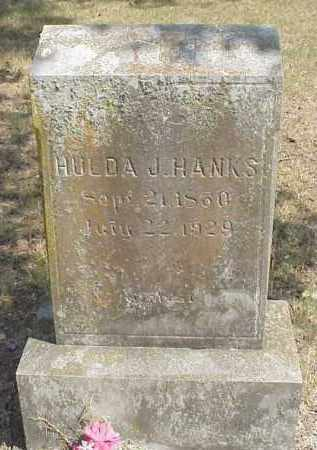 "JEFFERY HANKS, HULDA JANE ""JENNIE"" - Izard County, Arkansas 