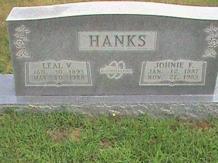 HANKS, JOHNIE E. - Izard County, Arkansas | JOHNIE E. HANKS - Arkansas Gravestone Photos