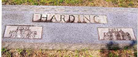 HARDING, ESKEL  &  DELLA - Izard County, Arkansas | ESKEL  &  DELLA HARDING - Arkansas Gravestone Photos