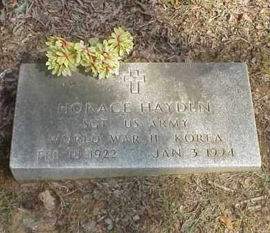 HAYDEN  (VETERAN 2 WARS), HORACE HANCEL - Izard County, Arkansas | HORACE HANCEL HAYDEN  (VETERAN 2 WARS) - Arkansas Gravestone Photos