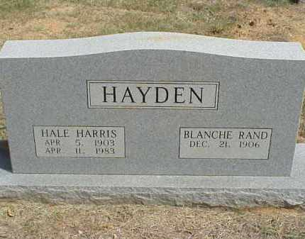 RAND HAYDEN, MARY BLANCHE - Izard County, Arkansas | MARY BLANCHE RAND HAYDEN - Arkansas Gravestone Photos