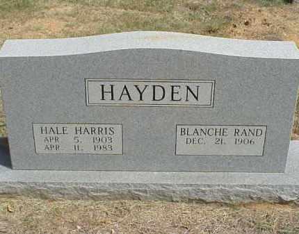 RAND HAYDEN, MARY BLANCHE - Izard County, Arkansas | MARY BLANCHE RAND HAYDEN - Arkansas Gravestone Photos