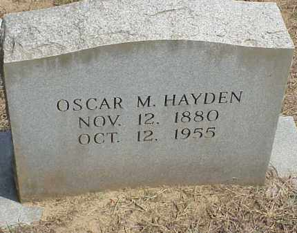 HAYDEN, OSCAR MESSICK - Izard County, Arkansas | OSCAR MESSICK HAYDEN - Arkansas Gravestone Photos