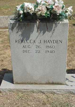 JEFFERY HAYDEN, REBECCA JANE - Izard County, Arkansas | REBECCA JANE JEFFERY HAYDEN - Arkansas Gravestone Photos